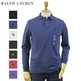 "Ralph Lauren Men's ""Medium Fit"" Cotton Jersey l/s Polo Shirt US ポロ ラルフローレン ミディアムフィット 長袖ポロシャツ"