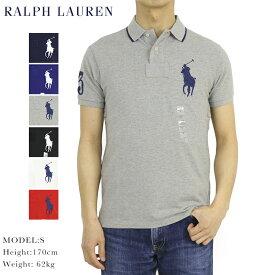 """ポロ ラルフローレン メンズ カスタムフィット ポロシャツ ビッグポニー刺繍 POLO Ralph Lauren Men's """"CUSTOM FIT"""" Big Pony Polo Shirts US (UPS)"""