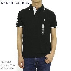 """ポロ ラルフローレン カスタムスリムフィット 鹿の子 ポロシャツ ラガーシャツ POLO Ralph Lauren Men's """"2"""" CUSTOM SLIM FIT Polo Shirt US"""