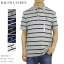 ポロ ラルフローレン ソフトタッチジャージー ボーダー柄 ポロシャツ ワンポイント Ralph Lauren Men's Cotton Jersey…