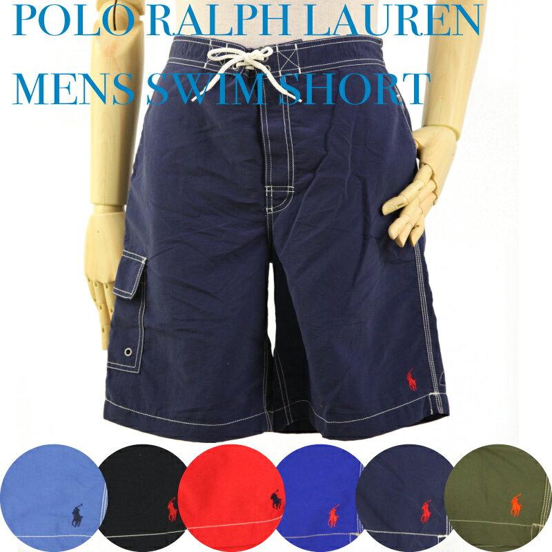 Ralph Lauren Men's Swim Shorts US ポロ ラルフローレン 無地 ポニー スイムショーツ (水着)