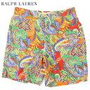 Ralph Lauren Men's Paisley Swim Shorts US ポロ ラルフローレン ペイズリー スイムショーツ (水着) (UPS)