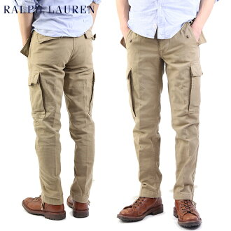 "Polo by Ralph Lauren Men's""SLIM FIT""Cargo Pants拉尔夫劳伦纤细合身货物裤子畅销"