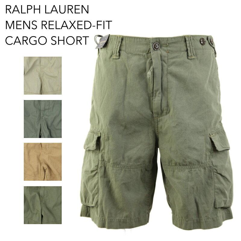 Ralph Lauren Men's Relaxed-Fit Cargo Short US ポロ ラルフローレン カーゴショーツ ショートパンツ 半ズボン
