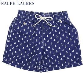 """Ralph Lauren Men's """"ANCHOR"""" Swim Shorts US ポロ ラルフローレン アンカーマーク スイムショーツ (水着)"""