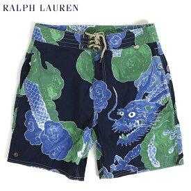 ポロ ラルフローレン アロハ柄 スイムショーツ (水着)POLO Ralph Lauren Men's Swim Shorts