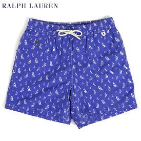 ポロ ラルフローレン ヨット柄 スイムショーツ (水着)POLO Ralph Lauren Men's Yacht Swim Shorts