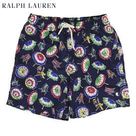 """ポロ ラルフローレン アロハ柄 スイムショーツ (水着)POLO Ralph Lauren Men's """"Aloha"""" Swim Shorts US"""