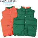 POLO by Ralph Lauren Boy's Reversible Down Vest USラルフローレン ボーイズダウン...