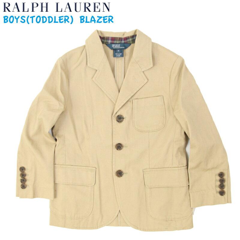 """(2-7) POLO by Ralph Lauren """"BOY (2-7)"""" Cotton Blazer USラルフローレン 子供用のテーラードジャケット"""