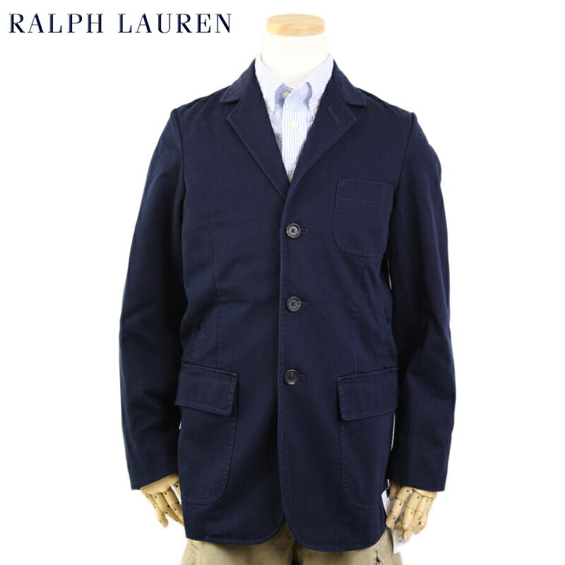 POLO by Ralph Lauren Boys Cotton Blazer Jacket USラルフローレン ボーイズサイズのテーラードジャケット