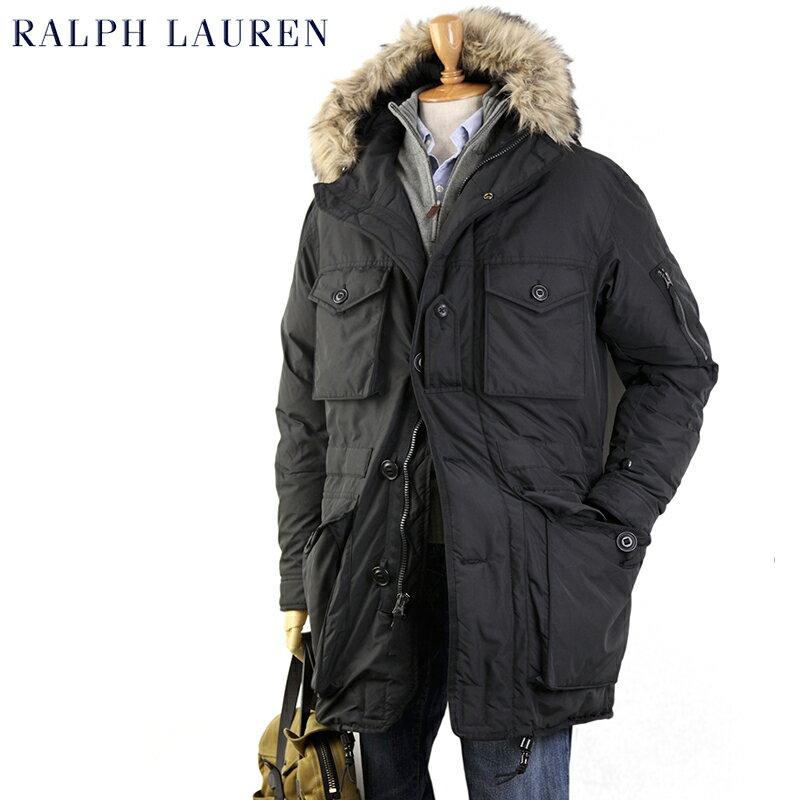POLO by Ralph Lauren Men's Ranger Down Parka USポロ ラルフローレン ファー付きフードの ダウンジャケット SALE