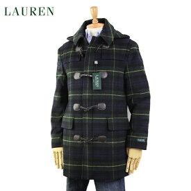 LAUREN by Ralph Lauren Men's Toggle Coat US ポロ ラルフローレン トグル ダッフルコート ブラックウォッチタータン