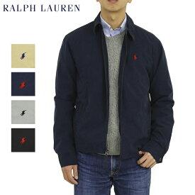ポロ ラルフローレン コットン ライト スイングトップPOLORalph Lauren Men's Washed Cotton Harrington Jacket US