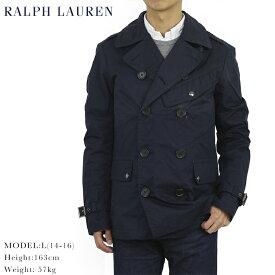 ポロ ラルフローレン コットン・ナイロン ダブルライダース ジャケット POLO by Ralph Lauren Men's MIlitary Riders Jacket