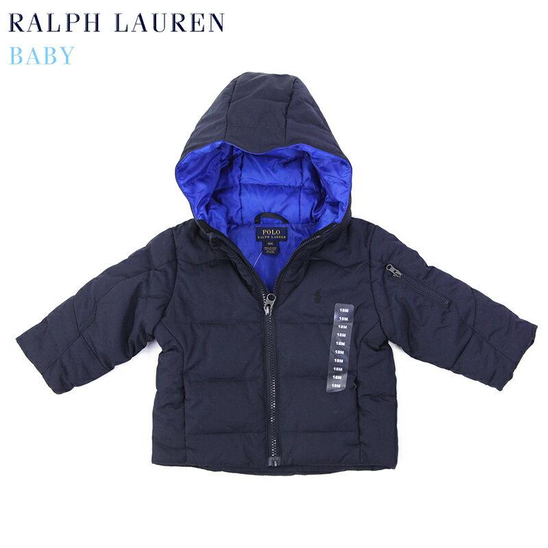 """(9M-24M) POLO by Ralph Lauren """"INFANT BOY"""" Down Parka USラルフローレン (幼児)ベイビーサイズのダウンジャケット パーカ"""