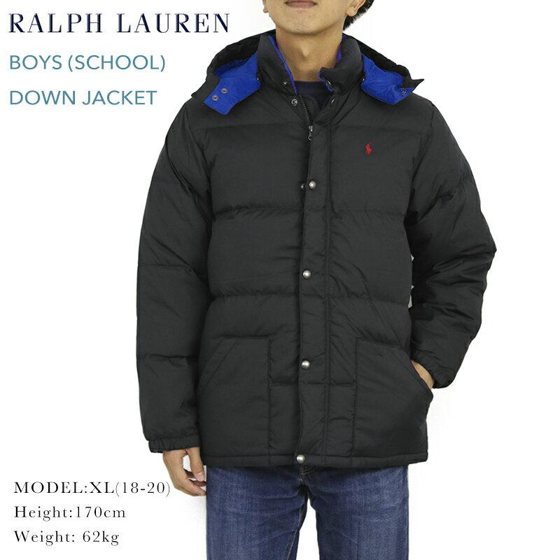 ポロ ラルフローレン ボーイズサイズのダウンジャケットPOLO by Ralph Lauren Boy's Down Jacket US