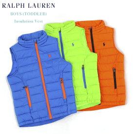 (TODDLER) BOYS(2-7) POLO by Ralph Lauren Insulation Vest USラルフローレン 子供用の化繊インサレーションベスト (UPS)