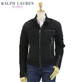 (WOMEN) Ralph Lauren Women's Fleece Cafe Racer Jacket 女性用 ラルフローレン スウェット ライダースジャケット カフェレーサージャケット