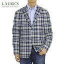 LAUREN by Ralph Lauren Men's Cotton Madras Jacket US ローレン ラルフローレン マドラスチェック コットン ジャケ…
