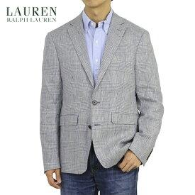 LAUREN by Ralph Lauren Men's Linen Jacket US ローレン ラルフローレン グレンチェック リネン ジャケット スポーツコート