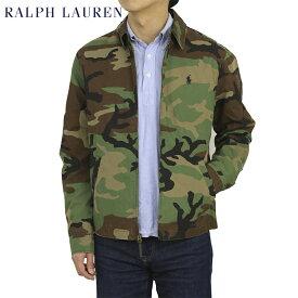 ポロ ラルフローレン コットン 迷彩カモフラージュ スイングトップ POLO Ralph Lauren Men's Washed Cotton Camo Harrington Jacket US
