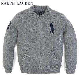 """ポロ ラルフローレン ボーイズ ビッグポニー セータージャケット POLO Ralph Lauren Boy's """"BIGPONY"""" Zip Cotton Sweater"""