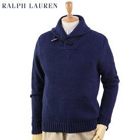Ralph Lauren Men's Cotton Toggle Shawl Sweater US ポロ ラルフローレン コットン ショールカラーセーター