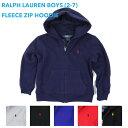 (TODDLER) Ralph Lauren Boy's(2-7) Zip Parka ラルフローレン ボーイズ スウェットパーカ