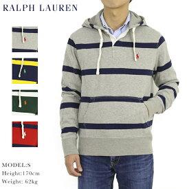 ポロ ラルフローレン スウェットパーカ ラガーシャツ型 パーカー POLO Ralph Lauren Men's Rugger Pullover Parka US