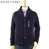 Ralph Lauren Men's Shawl Collar Cardigan US ポロ ラルフローレン ショールカラー カーディガン セーター