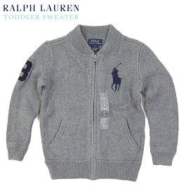 (2-7)Ralph Lauren Boy's Big Pony Full-zip Sweater ラルフローレン ボーイズ フルジップ セーター ジャケット