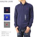 Ralph Lauren Boy's Half-Zip Pullover Sweater USラルフローレン ハーフジップのコットンセーター スウェット