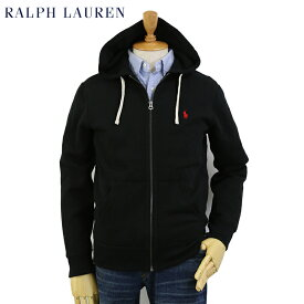 POLO Ralph Lauren Men's Cotton-Blend-Fleece Hoodie US ポロ ラルフローレン ジップアップスウェットパーカー ワンポイント フーディー 無地 売れ筋