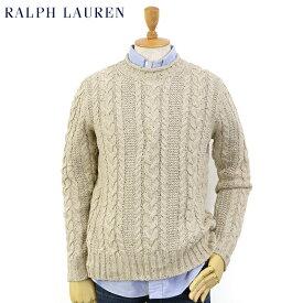 Ralph Lauren Men's Rollneck Cable Sweater US ポロ ラルフローレン ロールネック ケーブルコットン セーター