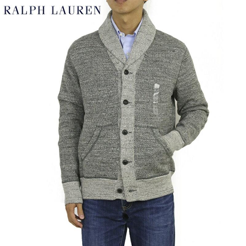 Ralph Lauren Men's Knit Sweat Cardigan US ポロ ラルフローレン ニットスウェット ショールカラーカーディガン