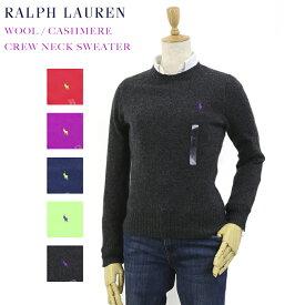 Ralph Lauren Women's Wool/Cashmere Crew Sweater USラルフローレン レディース ウール/カシミア クルーネック セーター