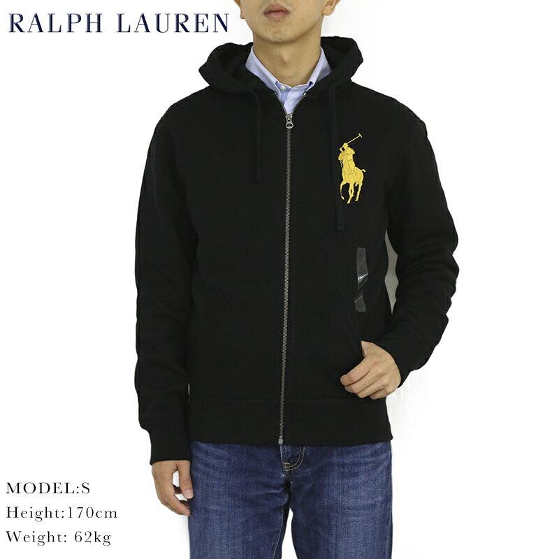 """ポロ ラルフローレン ジップアップスウェットパーカー ビッグポニー フーディー POLO Ralph Lauren Men's """"Big Pony"""" Hoodie US"""