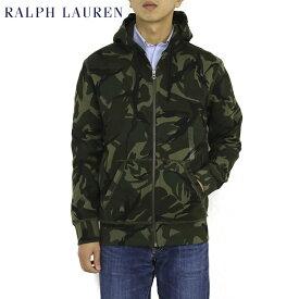 ポロ ラルフローレン 迷彩柄 ジップアップスウェットパーカー ワンポイント フーディー POLO Ralph Lauren Men's Camouflage Cotton-Blend-Fleece Hoodie US