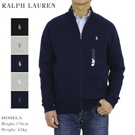 ポロ ラルフローレン コットンのフルジップセーター ジャケット POLO Ralph Lauren Men's Cotton Knit Full-Zip Sweater US
