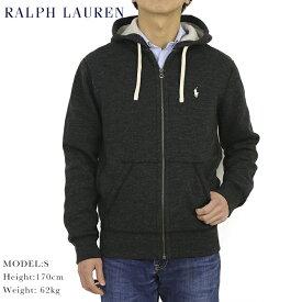 ポロ ラルフローレン ジップアップスウェットパーカー ワンポイント フーディー POLO Ralph Lauren Men's Cotton-Blend-Fleece Hoodie US 無地 売れ筋