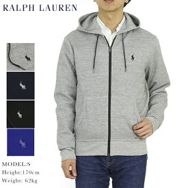 ポロ ラルフローレン フルジップ ジャージー スウェット パーカー POLO Ralph Lauren Men's Jersey Zip Parka US