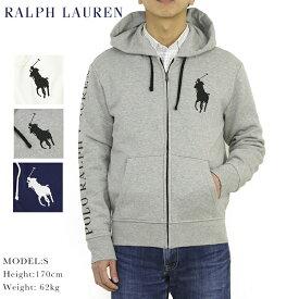 ポロ ラルフローレン ビッグポニー ズップアップ スウェット パーカー POLO Ralph Lauren Men's BIG PONY Fleece Zip Parka US