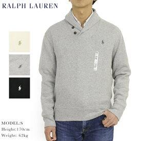 ポロ ラルフローレン ショールカラー フレンチリブ スウェット POLO Ralph Lauren Men's Shawl Collar Fleece Pullover