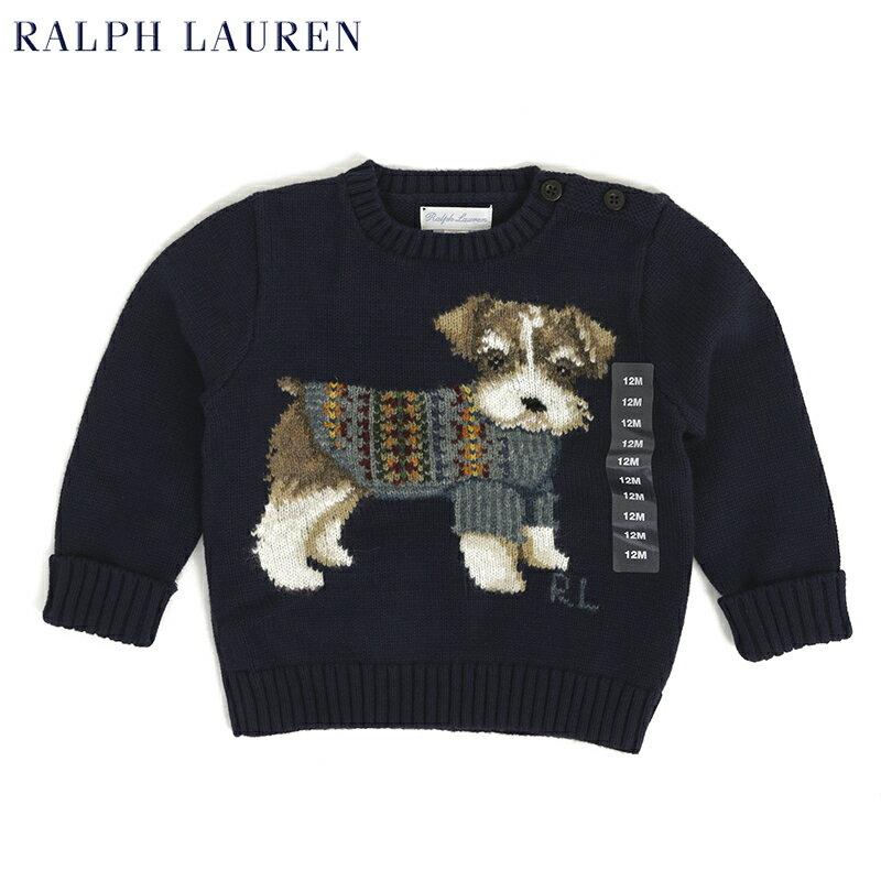 "(9M-24M) POLO by Ralph Lauren ""INFANT BOY"" Sweater US ポロ ラルフローレン (幼児) ベイビーサイズ セーター"
