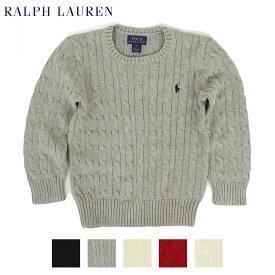 (TODDLER) Ralph Lauren Boy's(2-7) Cotton Crew Sweater ラルフローレン ボーイズ クルーネックセーター