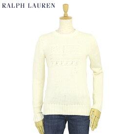 ポロ ラルフローレン レディース アメリカ国旗 フラッグ クルーネック コットン プルオーバー セーター POLO Ralph Lauren Women's Cotton Sweater