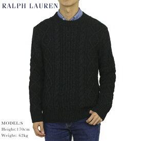 ポロ ラルフローレン コットン ケーブルニット フィッシャーマンセーターPOLO Ralph Lauren Men's Vintage Cotton Fisherman Sweater US