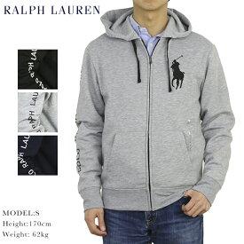 ポロ ラルフローレン ビッグポニー ジップアップ スウェット パーカー POLO Ralph Lauren Men's BIG PONY Fleece Zip Parka US