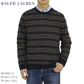 Ralph Lauren Men's Fairisle Crewneck Sweater US ポロ ラルフローレン フェアアイルニット クルーネックセーター